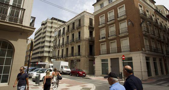 El Soho de Málaga late despacio