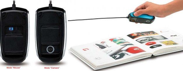 Cam Mouse: un mouse que toma fotografías, graba videos HD y lee códigos QR