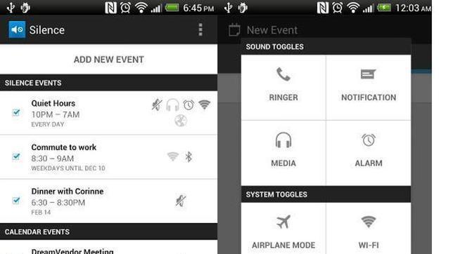 Silence, la aplicación que enseña a tu «smartphone» a guardar silencio