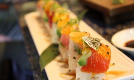 Sushi con códigos QR